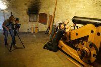 k Werk XXXII Festungsgeschutz BR TV Dreharbeiten 06 07 2016 88